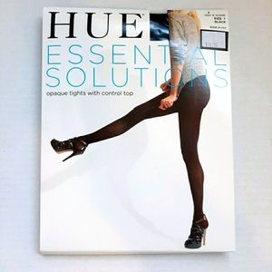 🏷 NWT HUE ESSENTIAL OPAQUE TIGHTS SIZE 1